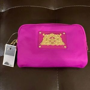 Juicy couture cosmetic pouch